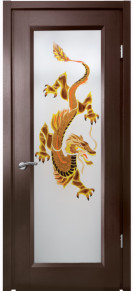 Doors with the glass Ena Dragon