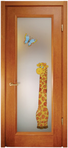 Doors with the glass Ena giraffe