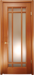 Doors with the glass Marseilles meranti